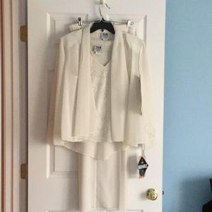 3 piece elegant, dressy pant suit